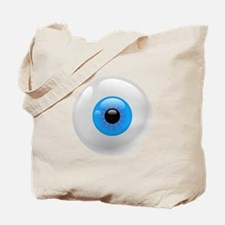 Giant Blue Eye Tote Bag