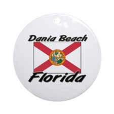 Dania Beach Florida Ornament (Round)