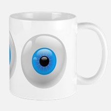 Big Blue Eyes Mugs