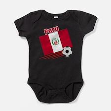 Funny Peru Baby Bodysuit