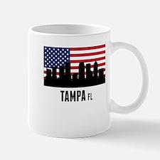 Tampa FL American Flag Mugs