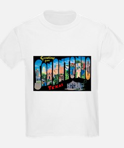 San Antonio Texas Greetings (Front) T-Shirt