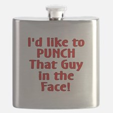 Punch that Guy Flask