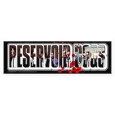 Reservoir Dogs Splat Bumper Sticker