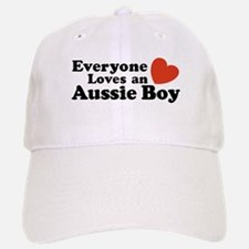 Everyone Loves an Aussie Boy Baseball Baseball Cap