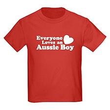 Everyone Loves an Aussie Boy T