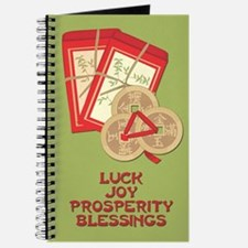 Chinese Adoption Red Envelope Lucky Diary Journal