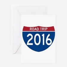 Road Trip 2016 Greeting Cards