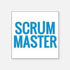 Scrum Master Sticker
