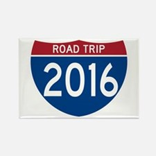 Road Trip 2016 Magnets