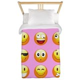 Emoji Twin Duvet Covers