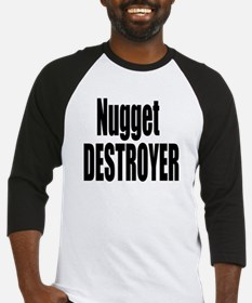Nugget Destroyer Baseball Jersey