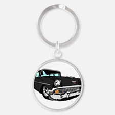 Im Mad for this Black 2 Door Bel Air! Keychains