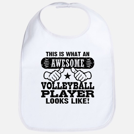 Awesome Volleyball Player Bib