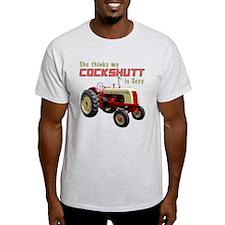 Cockshutt Sexy Tractor Shirt - Dark Tee T-Shirt
