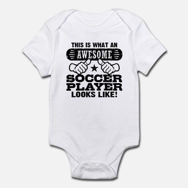 Awesome Soccer Player Infant Bodysuit