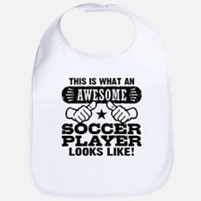 Awesome Soccer Player Bib