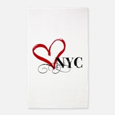 LOVE NYC FANCY Area Rug