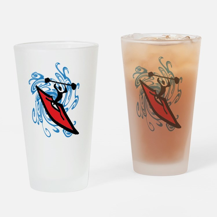 Cute Nile river Drinking Glass