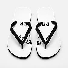 Producer Designs Flip Flops