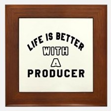 Producer Designs Framed Tile