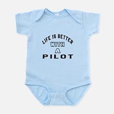 Pilot Designs Infant Bodysuit