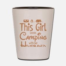 Cute Camper Shot Glass