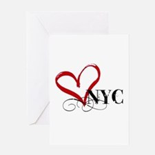 LOVE NYC FANCY Greeting Cards