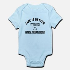 Physical Therapy Assistant Designs Infant Bodysuit