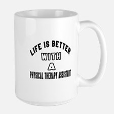 Physical Therapy Assistant Designs Large Mug