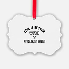 Physical Therapy Assistant Design Ornament