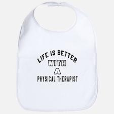 Physical Therapist Designs Bib
