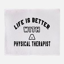 Physical Therapist Designs Throw Blanket