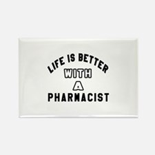 Pharmacist Designs Rectangle Magnet