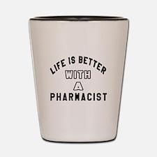Pharmacist Designs Shot Glass