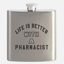 Pharmacist Designs Flask