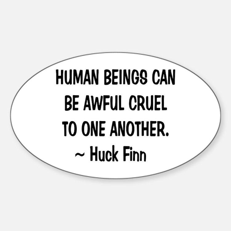 Huck Finn Wisdom Decal