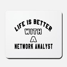 Network Analyst Designs Mousepad