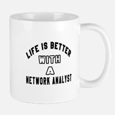 Network Analyst Designs Mug