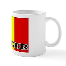 Belgium Flag Soccer Mug