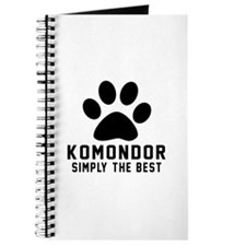 Komondor Simply The Best Journal