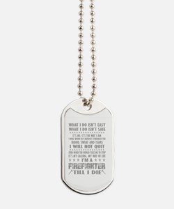 Unique Firefighters Dog Tags
