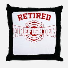 Cute Fire fighter Throw Pillow