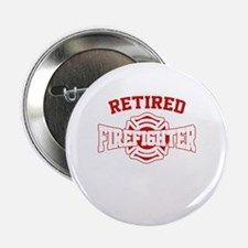 "Cute Firefighter 2.25"" Button"