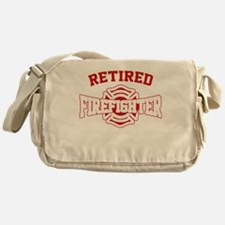 Cool Firefighter Messenger Bag