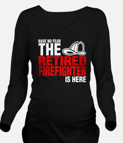 Unique Fighter Long Sleeve Maternity T-Shirt