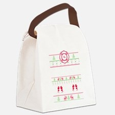 Cute Fighter Canvas Lunch Bag