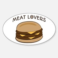 Meat Lovers Decal