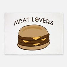 Meat Lovers 5'x7'Area Rug