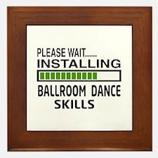 Please wait, Installing Ballroom dance Framed Tile